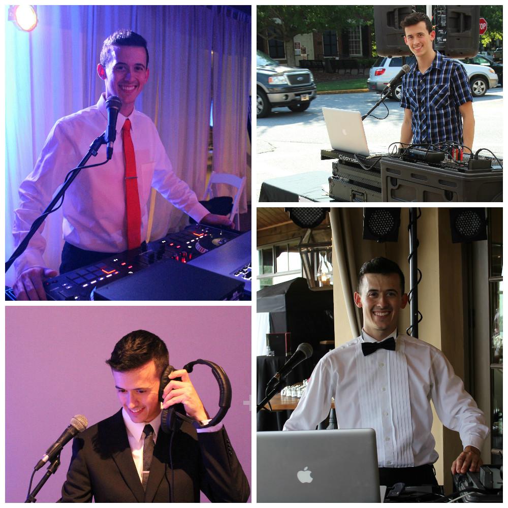 DJ Tommy Pirone collage