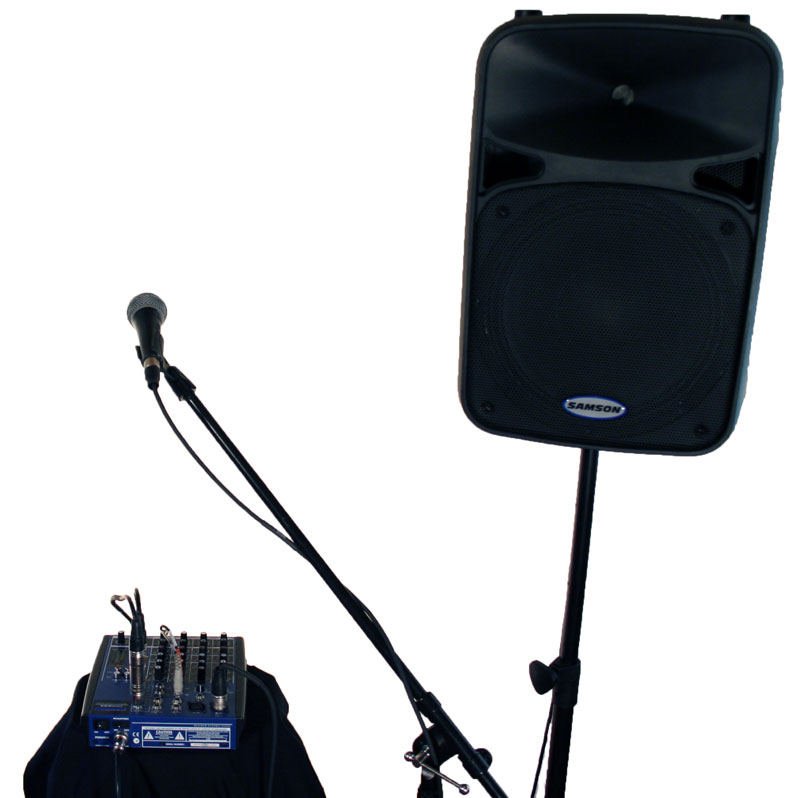 Smallest-PA-rental-promo-sound-system-up to 150 people
