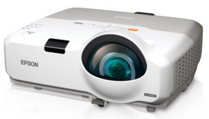 epson projector for wedding slideshow