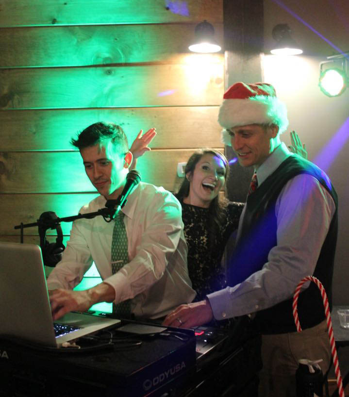 interactive dj holiday party shenanigans